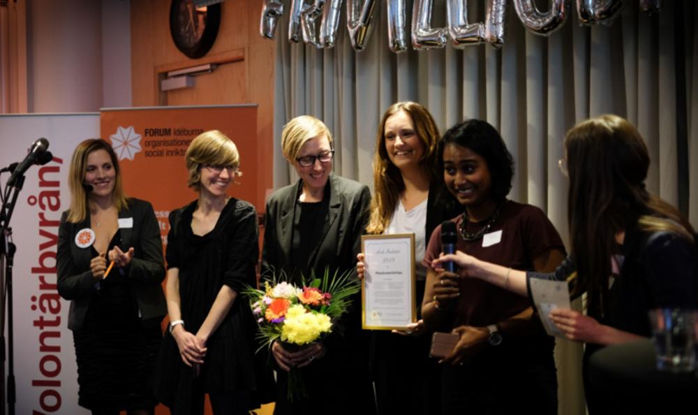 Pensionrättvisa fick utmärkelsen Årets initiativ 2019