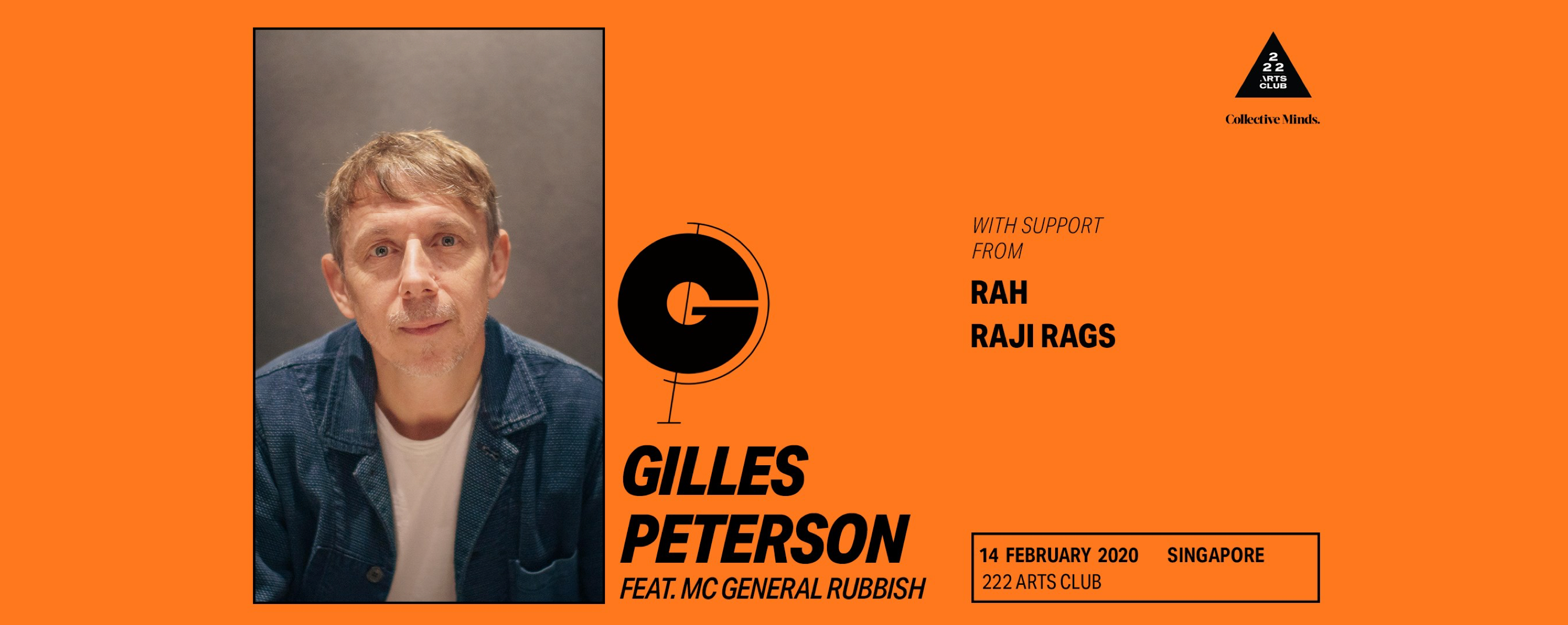 Gilles Peterson (UK) presented by Collective Minds - SG Show