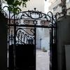 Courtyard entrance, Shaar Hashamayim (Adly St) Synagogue, Cairo, Egypt. Joshua Shamsi, 2017.