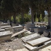 Grave Sites 13,  Borgel Jewish Cemetery at Tunis, Tunisia, Chrystie Sherman, 7/19/16