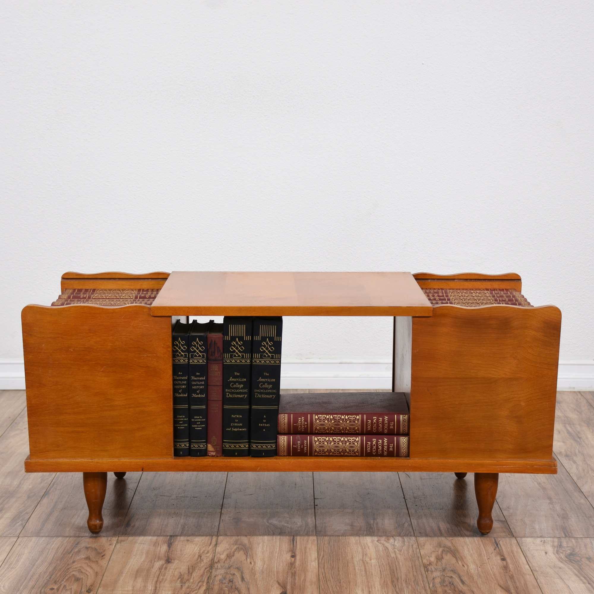 Encyclopedia Coffee Table