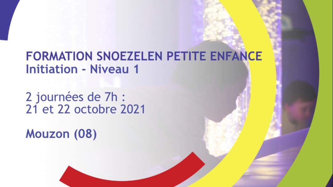 Représentation de la formation : Formation Snoezelen Petite Enfance - Initiation - Niveau 1 - Mouzon (08)