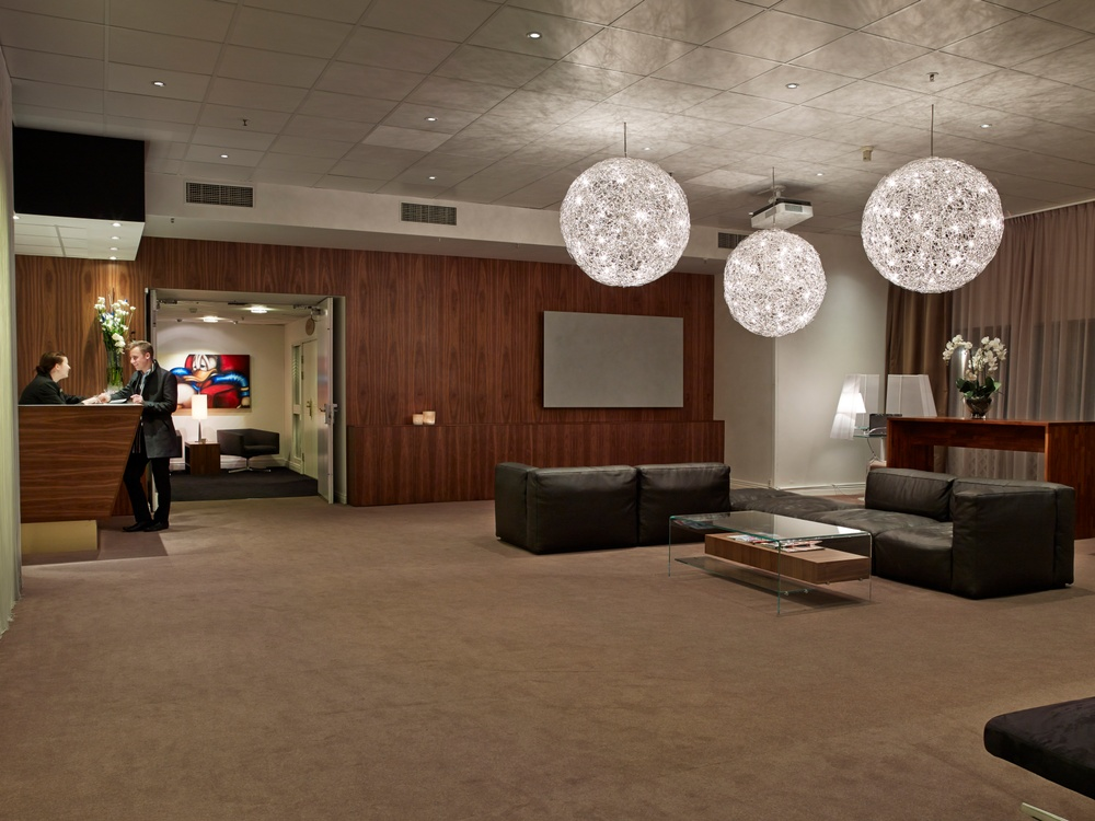 Konferenslobby på Hotel Riverton i Göteborg