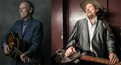 BT - John Hiatt and The Jerry Douglas Band - April 28, 2021, doors 6:30pm