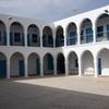 Exterior, El Ghriba Synagogue, Djerba (Jerba, Jarbah, جربة), Tunisia 7/9/2016, Chrystie Sherman