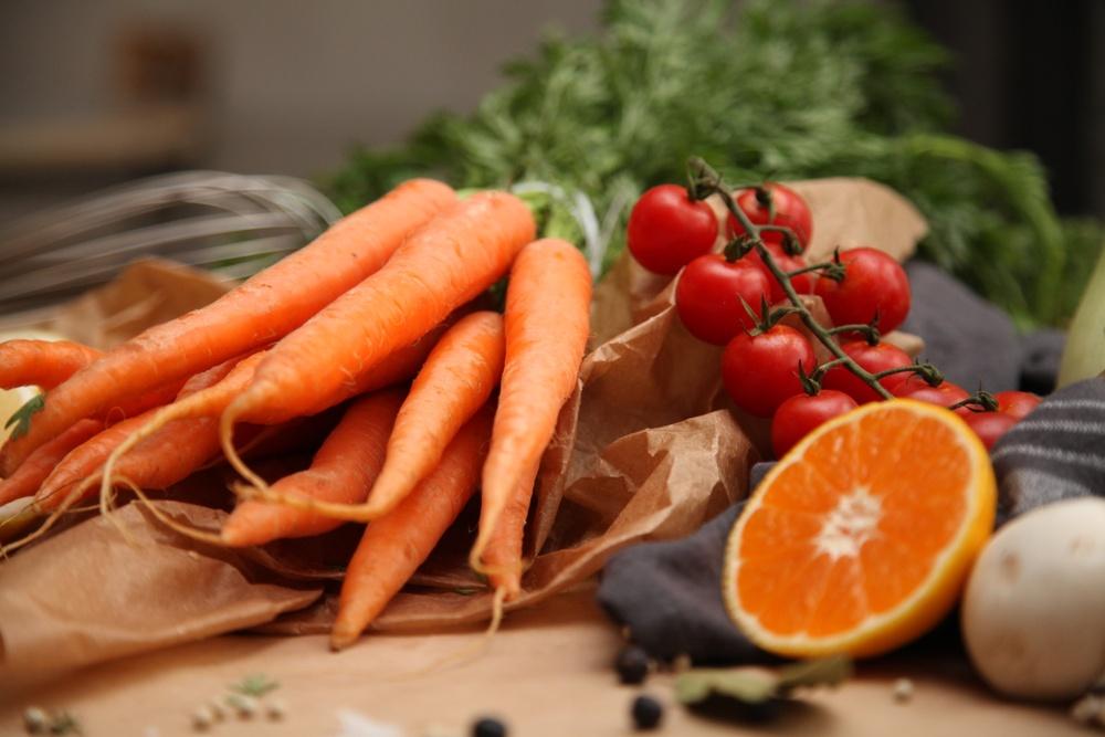 Grönsaker och frukt. Foto: Skurups kommun