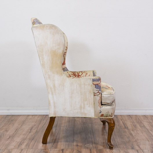 Drexel Heritage Chinoiserie Wingback Armchair Loveseat