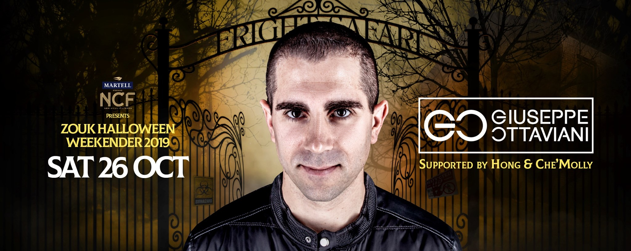 MARTELL NCF PRESENTS FRIGHT SAFARI WITH GIUSEPPE OTTAVIANI, SUPPORTED BY HONG & CHE'MOLLY
