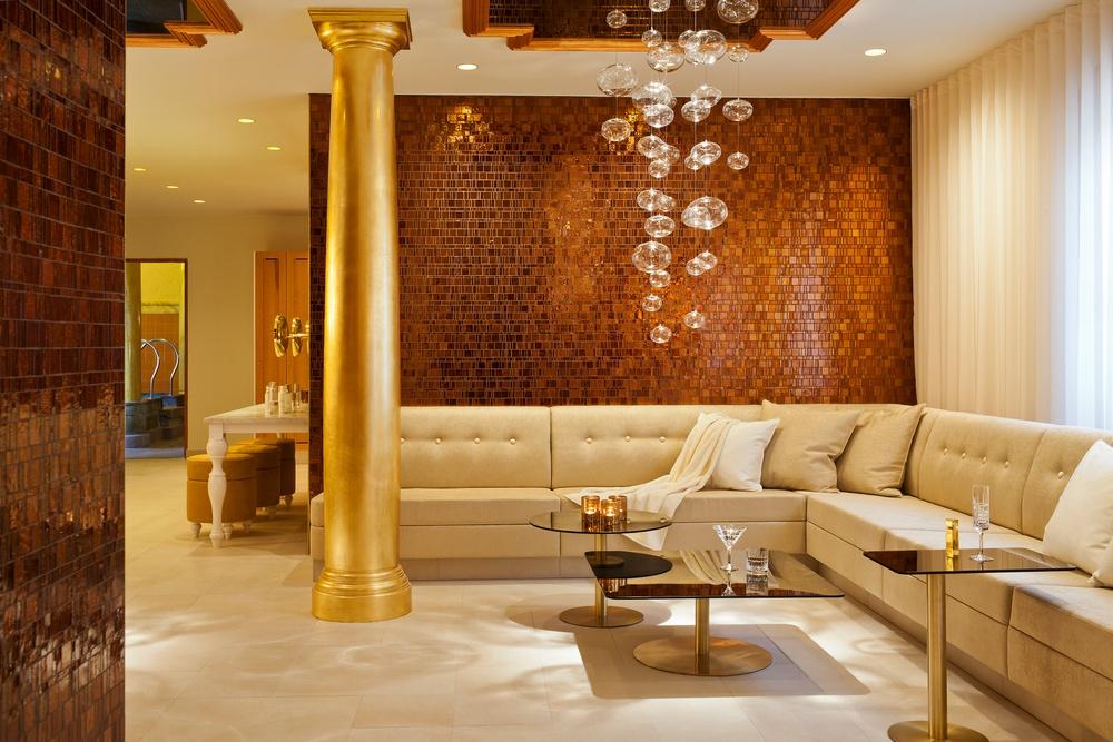 Loungedelen i det Turkiska Badet. Arkitekt: Whyte Lilja