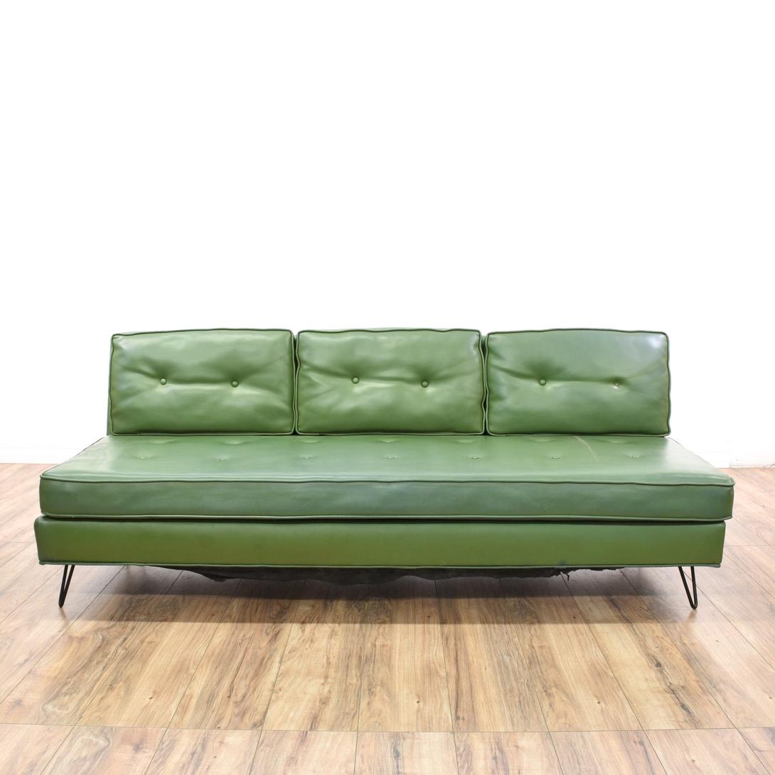 Mid Century Modern Green Vinyl Sofa Loveseat Vintage  : convertw1090amph1090ampfitcropamprotateexif from www.loveseat.com size 1090 x 1090 jpeg 120kB