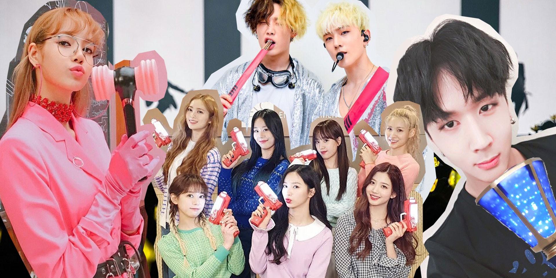 10 unique K-pop fandom lightsticks: BLACKPINK, Big Bang, DAY6, and more