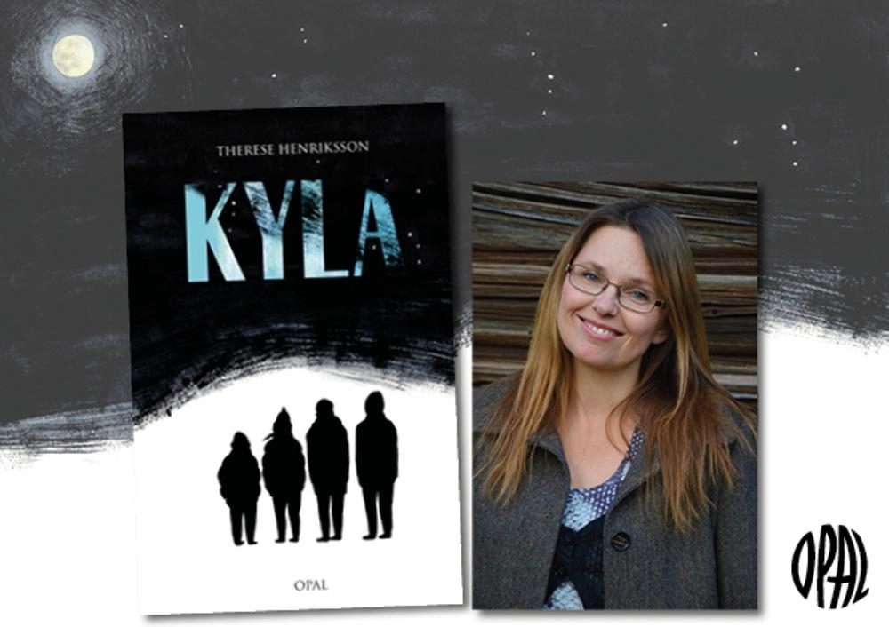 Kyla av Therese Henriksson, Omslag av Clara Dacenberg, Porträtt av Lovisa Henriksson