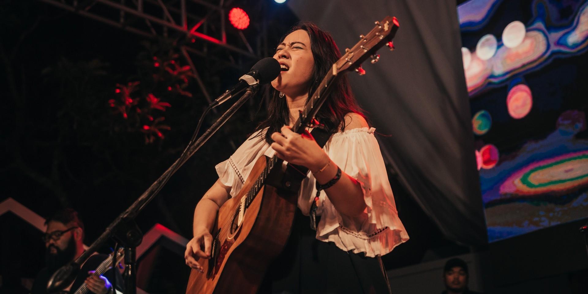 Reese Lansangan launches sophomore album details on secret site