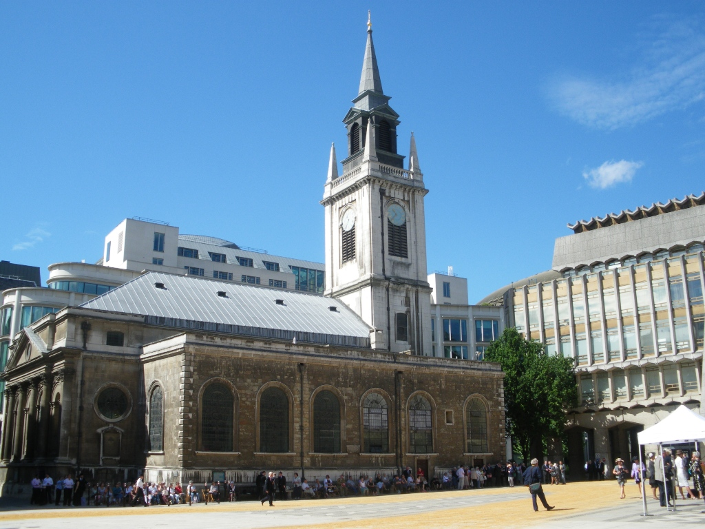 Eglise St Lawrence Jewry, Londres (UK)