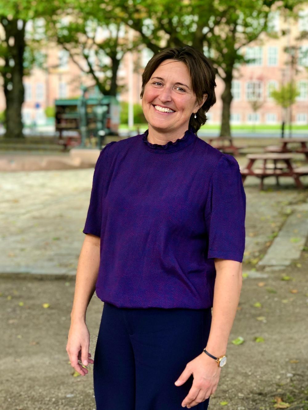 Charlotta Blom, utvecklingsledare/vd Ystads teater