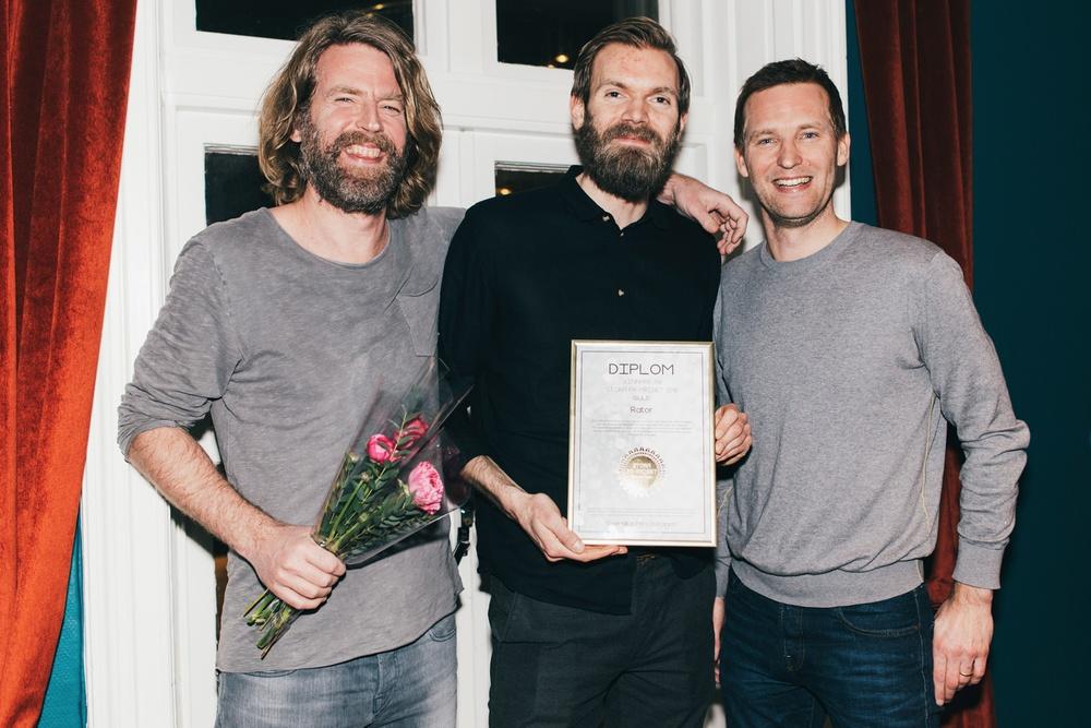 Prat PR/Restaurangappen Rator - Vinnarna av Stora PR-priset 2018