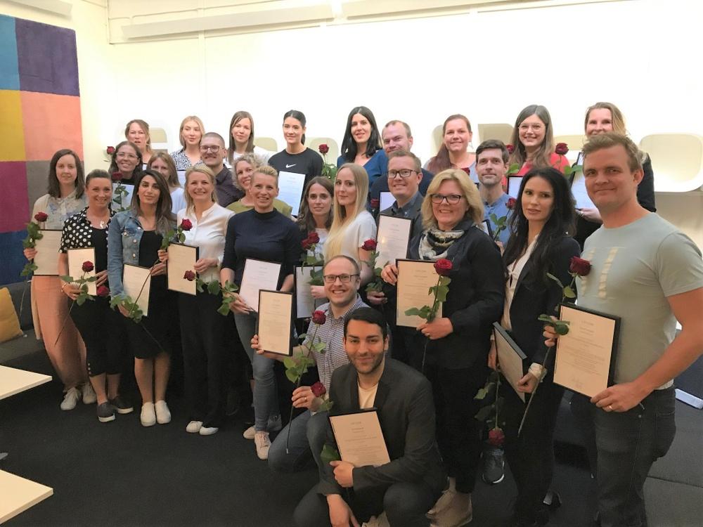27 medarbetare inom AcadeMedia har gått på Talangprogrammet.