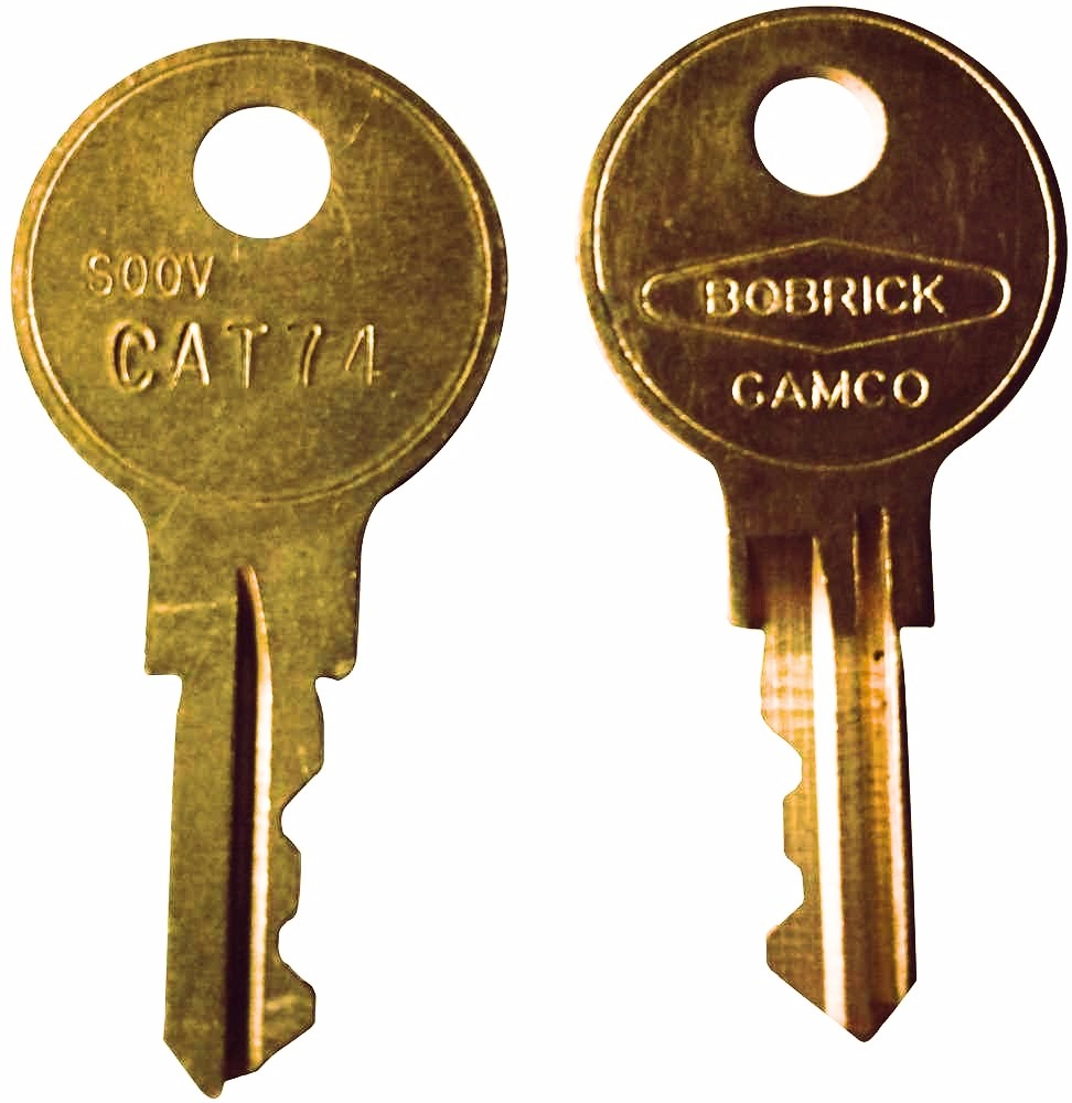 Other BOBRICK CAT 74 DISPENSER KEY