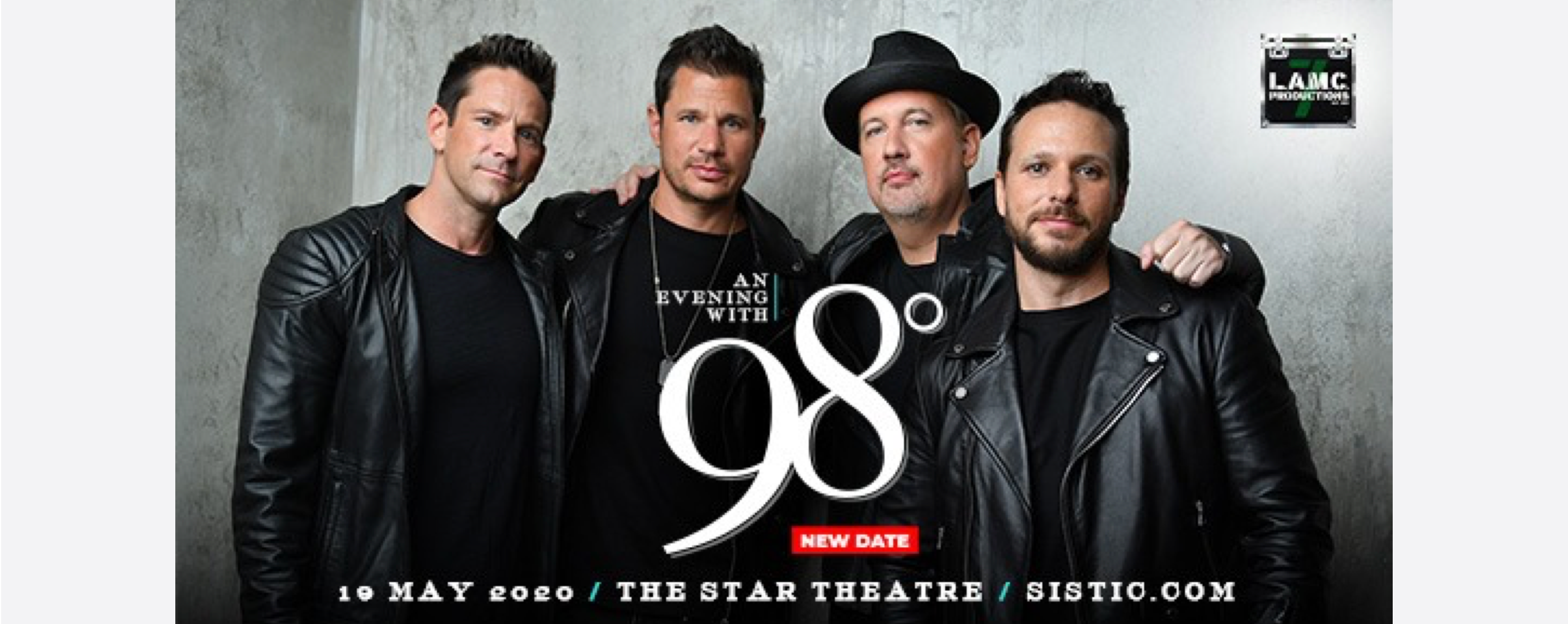 An Evening with 98° - Live in Singapore