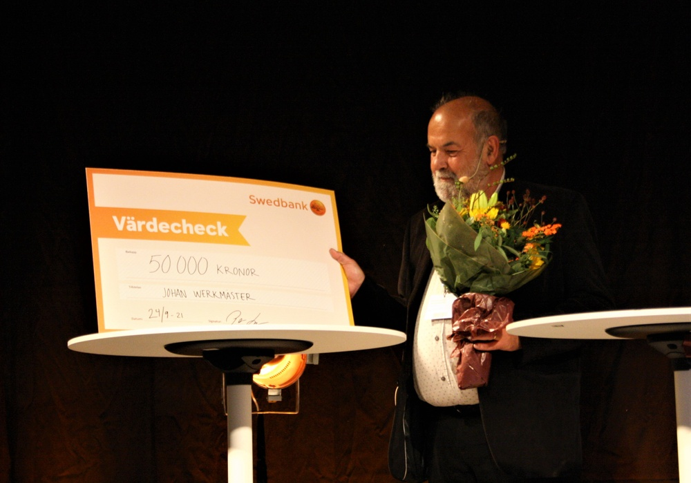 Johan Werkmäster, Lättläst-priset 2021.
