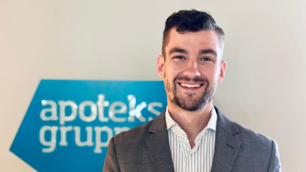 Erik Romell, CFO Apoteksgruppen.