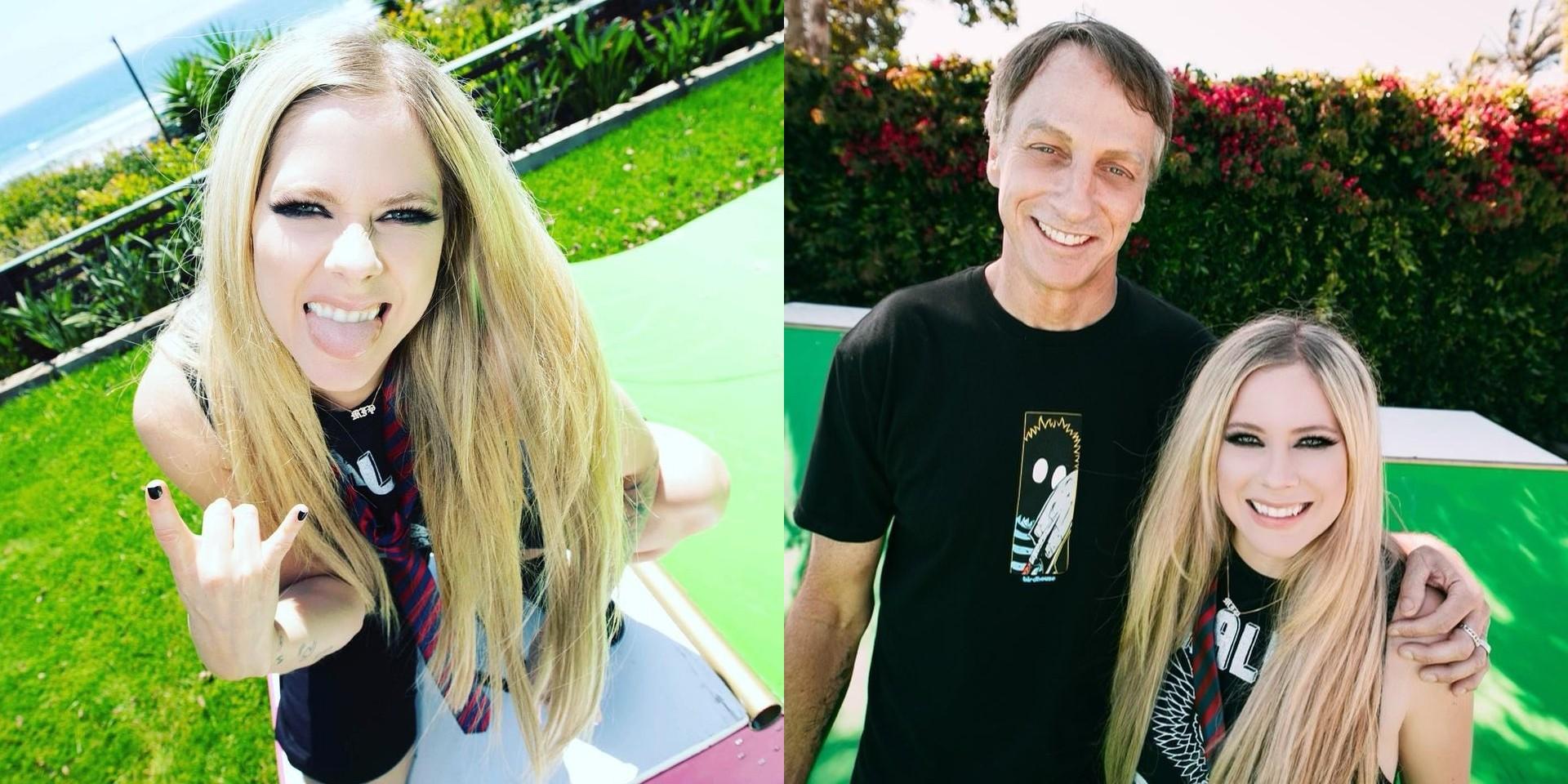 Avril Lavigne teams up with Tony Hawk for 'Sk8er Boi' TikTok debut – watch