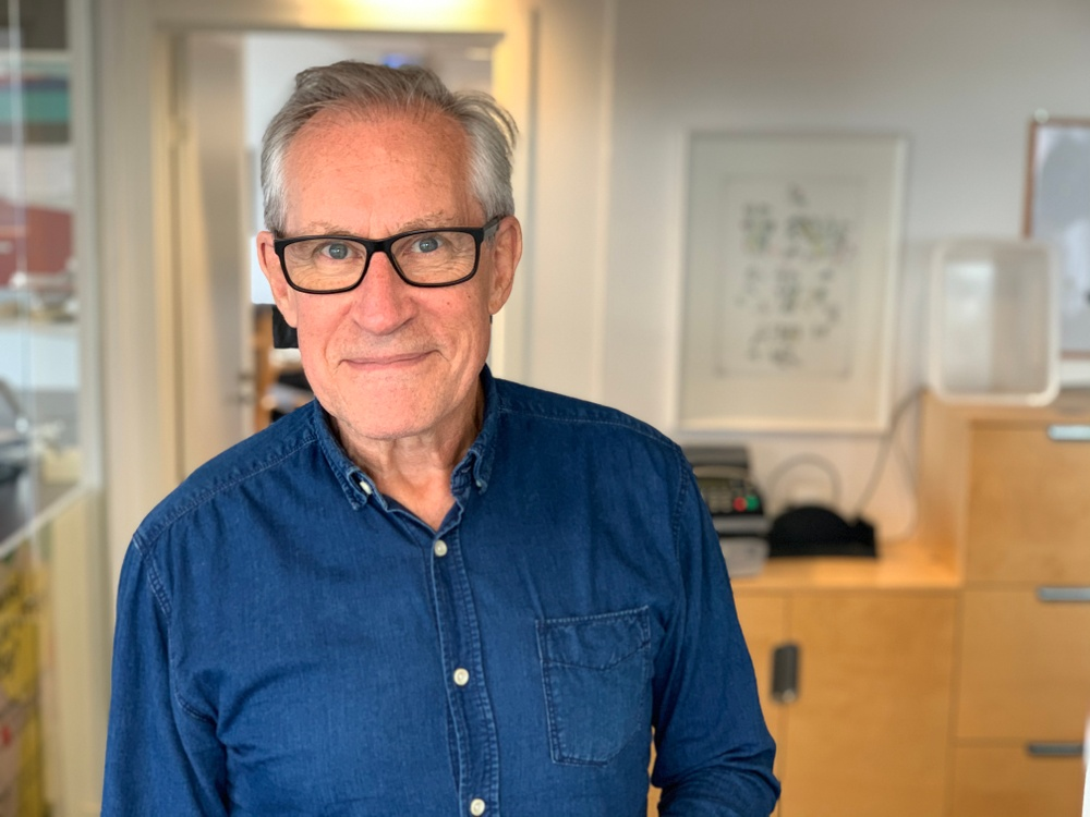 Efter mer än 30 år som Bildupphovsrätts VD går Mats Lindberg i pension 30 september. Foto: Emma Grip