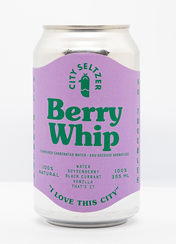 City Seltzer Berry Whip