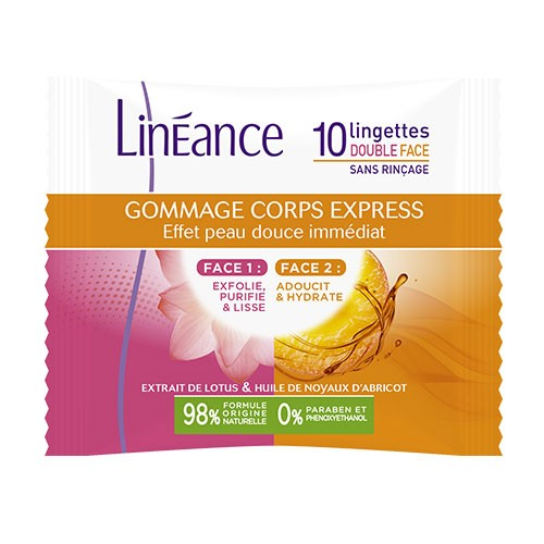 Lingettes Gommage Corps Express
