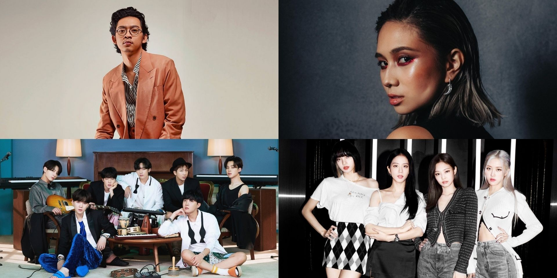 Pamungkas, NIKI, BTS, BLACKPINK, and more top Spotify Indonesia's list of most-streamed artists for 2020
