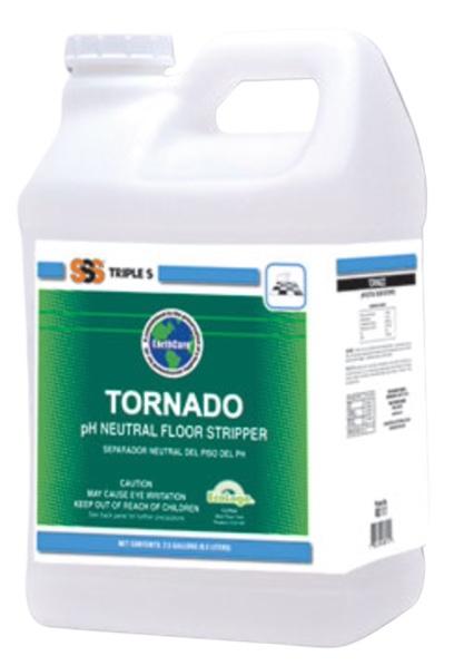Triple-S 'Tornado' pH Neutral Floor Stripper for Synthetic Floors