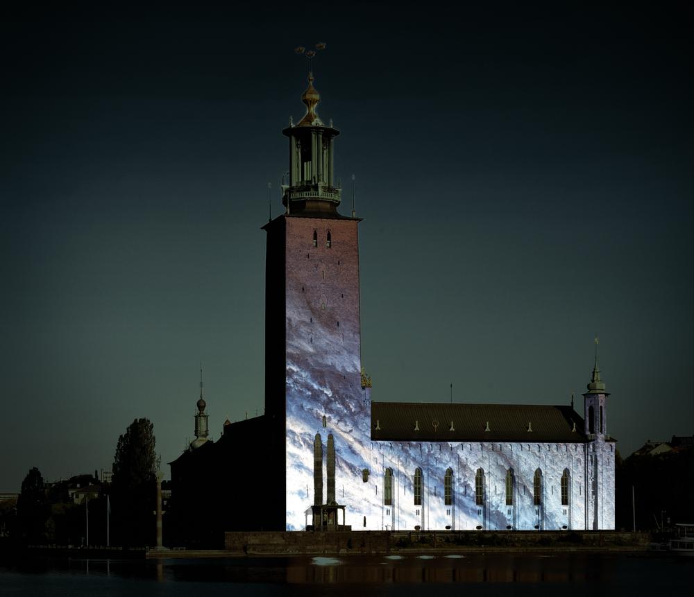 Nobel light week Stockholm ljusinstallation