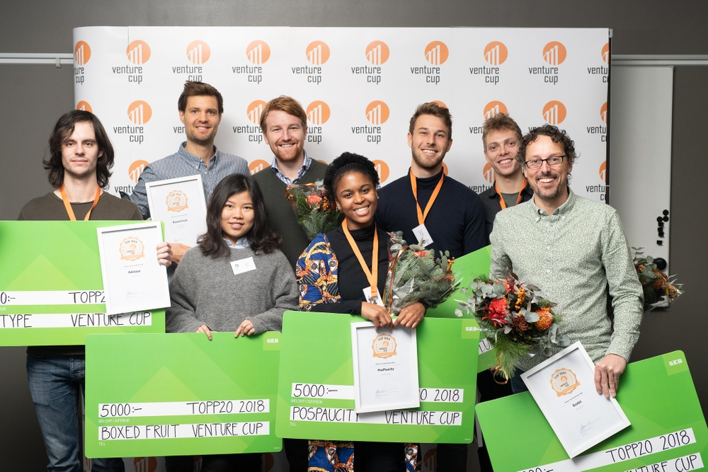 Vinnarna i Venture Cup IDEA 2018
