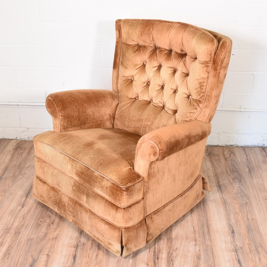 Vintage La Z Boy Recliner Loveseat Vintage Furniture San