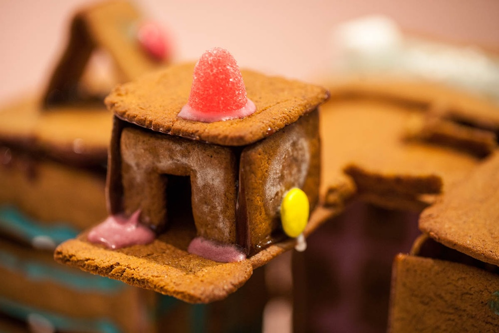 Details from Gingerbread House Competition 2018. Cred: Viktoria Garvare.