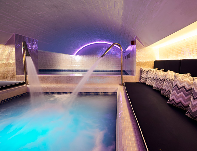 The spa at the Bristol Harbour hotel