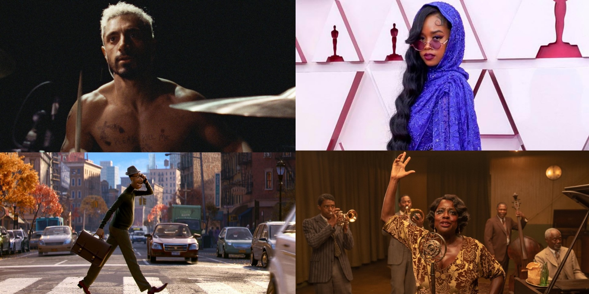 Here are the winners of the 93rd Academy Awards — Soul, Sound of Metal, H.E.R., Ma Rainey's Black Bottom, and more