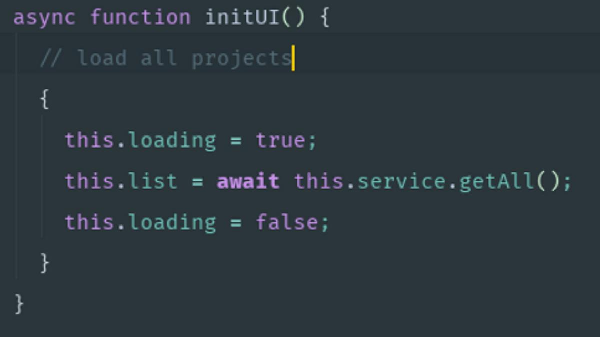 Asynchronous JavaScript made readable again: async/await