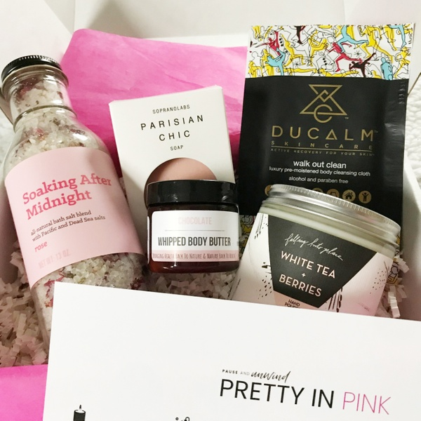 February 2019 - Luxe Box - Pretty in Pink