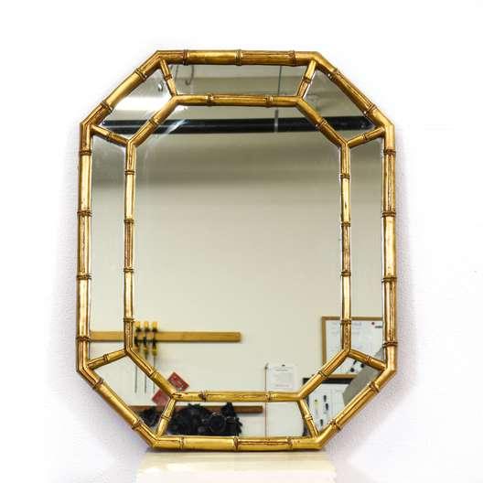 Gold Bamboo Regency Mirror
