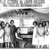 Piano class at the Laura Kadoorie Alliance Israelite Universelle, School, Baghdad, Iraq. Photo courtesy Alliance I.U. Archives.