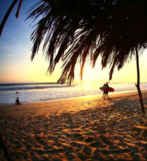 costa rica surfers