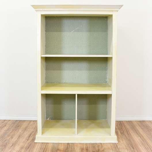 Blue & White Shabby Chic Bookcase