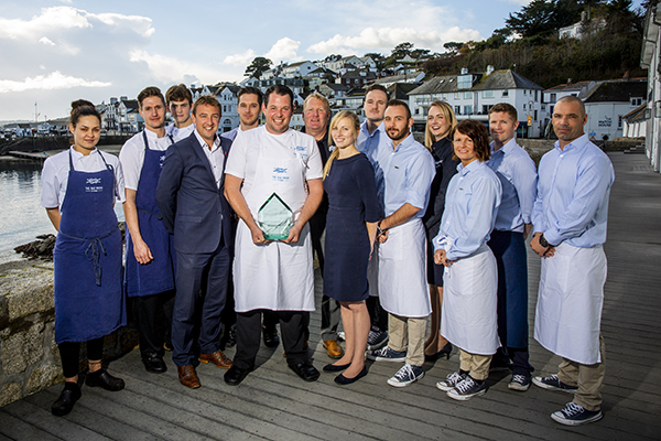 Isle Rocks, the 2018 winner of the Seafood Restaurant of the Year
