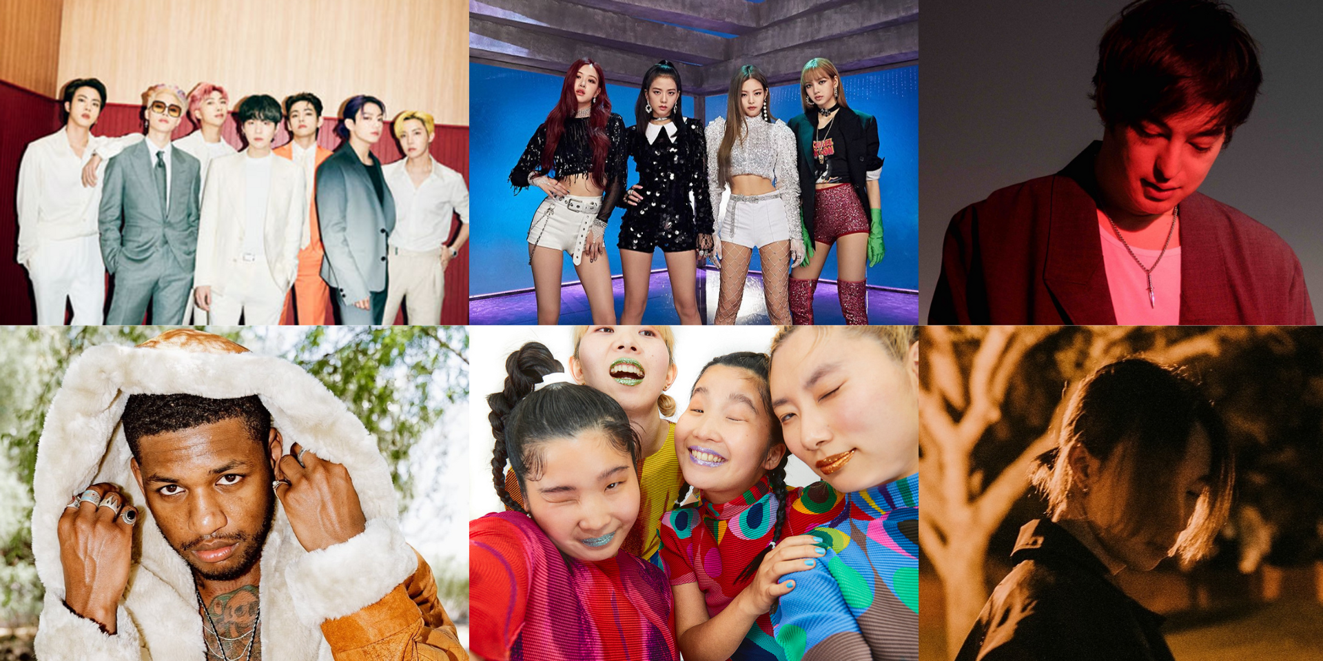 BTS, BLACKPINK, CHAI, keshi, Joji, Guapdad 4000, and more nominated for 1st LION AWARDS, watch it on Twitch