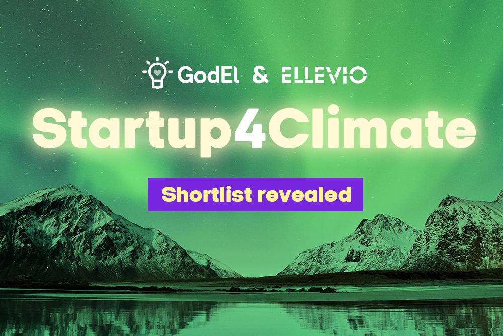 Startup 4 Climate - shortlist revealed