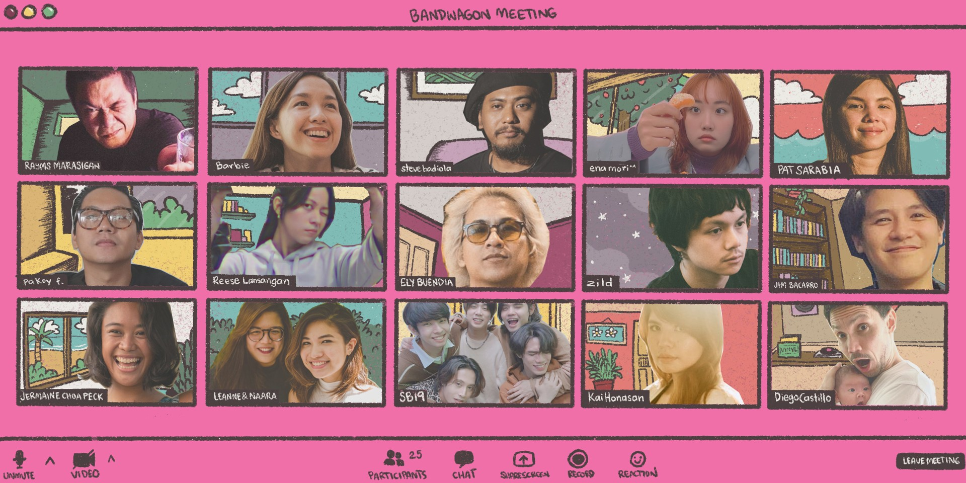 Checking in with Ely Buendia, Sandwich, SB19, Reese Lansangan, Typecast, and more after one year in lockdown