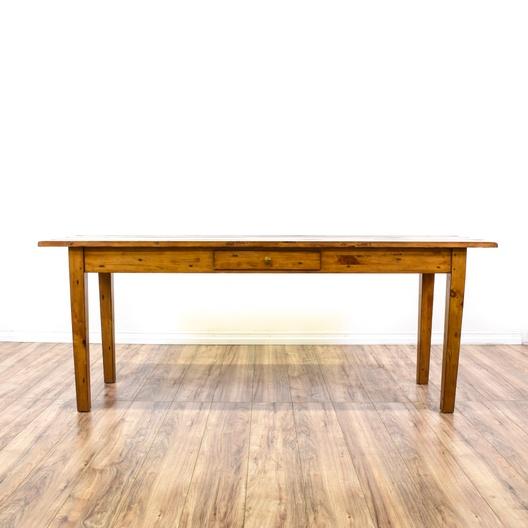 Rustic Pine Sofa Table: Long Rustic Pine Console Sofa Table