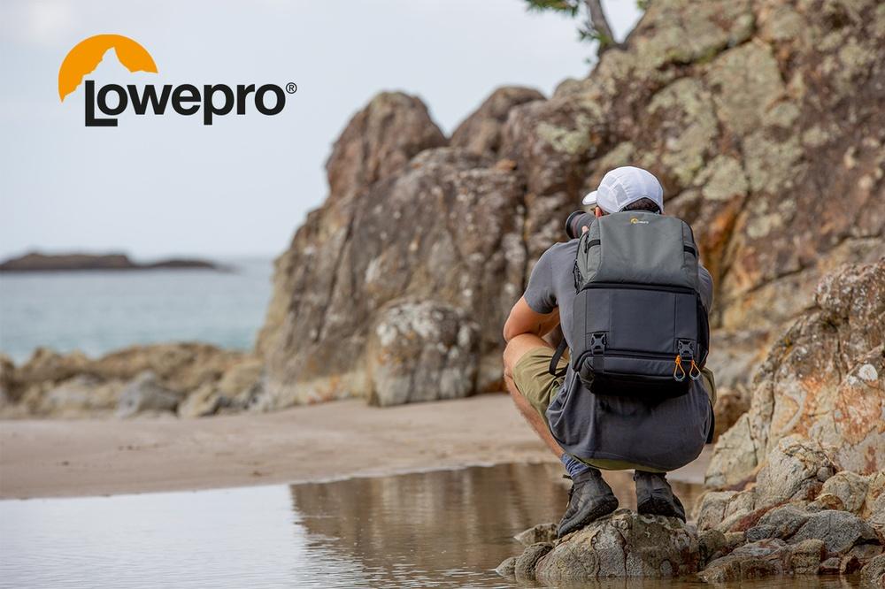 Trys nauji Lowepro Fastpack ir Slingshot dėklai rudens nuotykiams