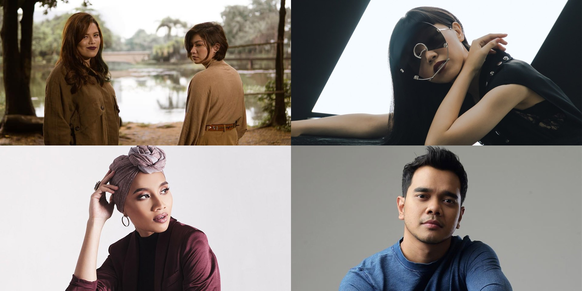 Leanne & Naara, Yuna, Jasmine Sokko, Alif Satar, and more share their quarantine playlists on At Home With Apple Music